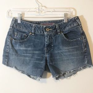 Silver Upcycled cutoffs  29